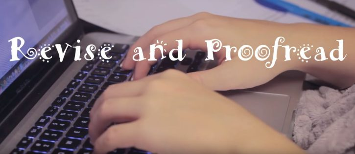Revise and proofread your essay