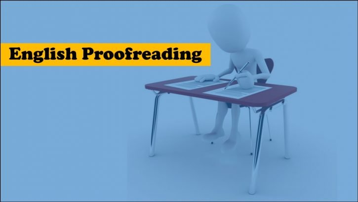What is English proofreading?