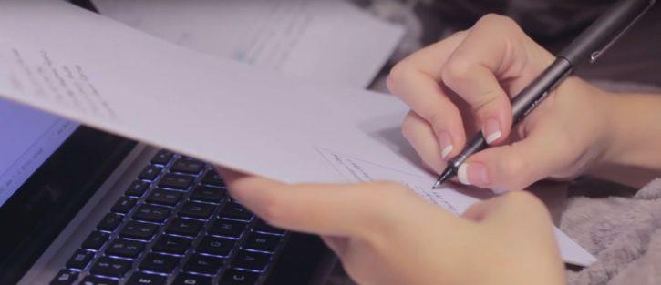 Copy-editing-on-a-laptop