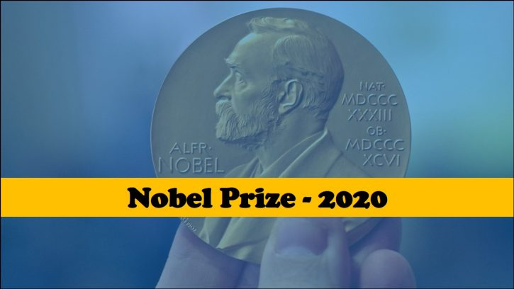Science Nobel Prize Winners - 2020