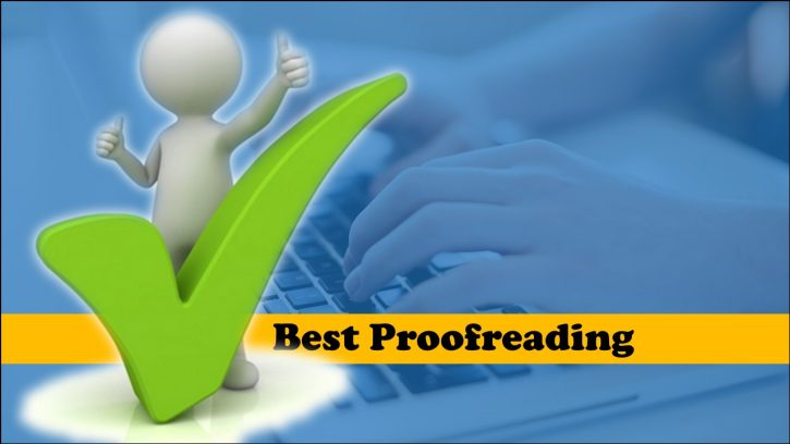 What Does the Best proofreading service offer?