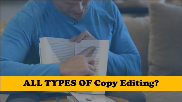 ALL TYPES OF COPY EDITING