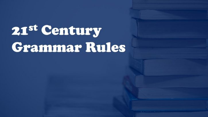 English grammar rules that have changed