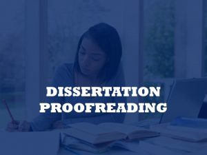 A services for proofreading PhD thesis