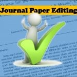Best journal paper editing service