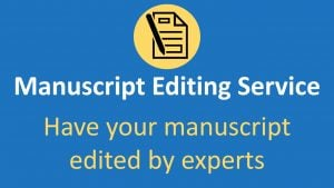 Journal manuscript editing service