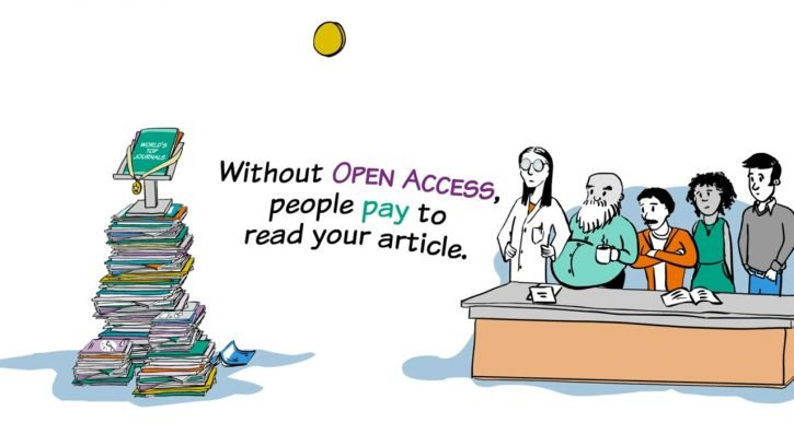 Without open access people pay