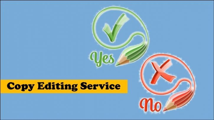 What is a copy editing service?