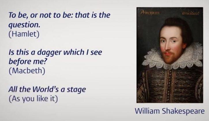 William Shakespear old English
