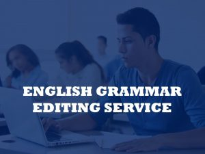 Editor of English grammar