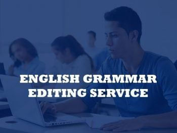 A service for improving the grammar