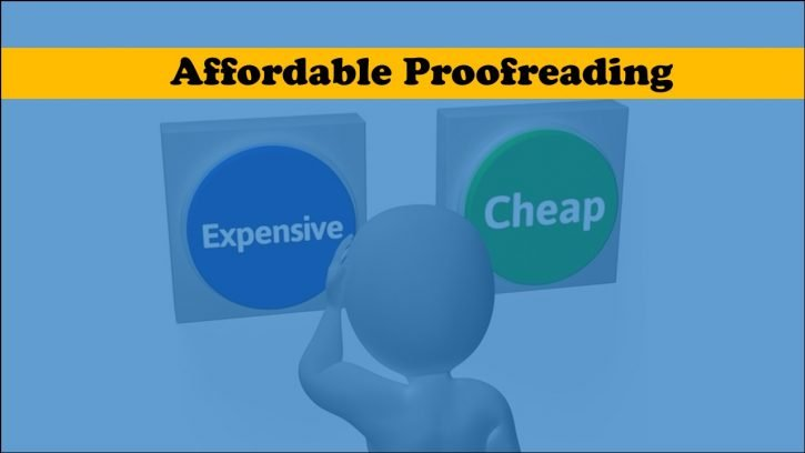 Affordable Proofreading Service