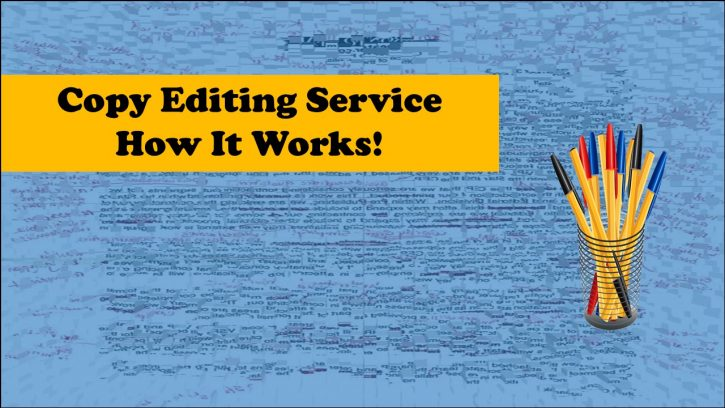 How a copy editing service works