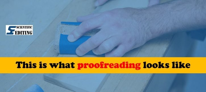 This is what proofreading looks like