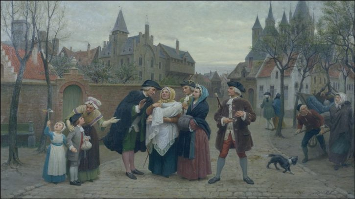 Emergence of middle class in the 18th century