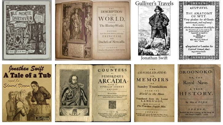 Influential novels of the 18th century