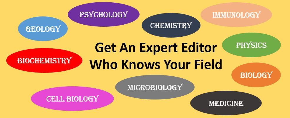 Science Editing and Proofreading Service 1 | Scientific Editing