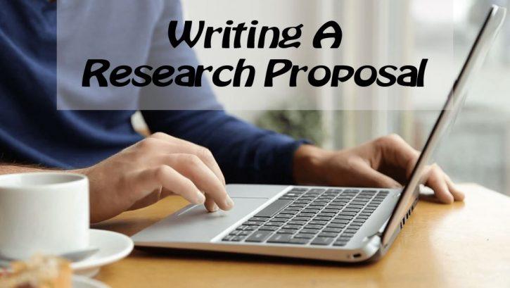 writing research proposal