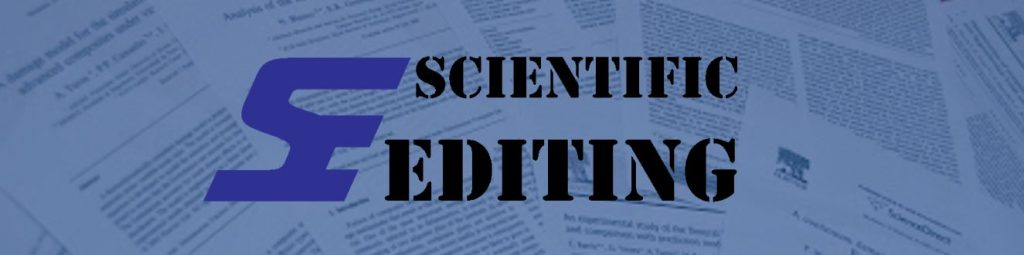 Scientific Editing of academic proofreading and editing company