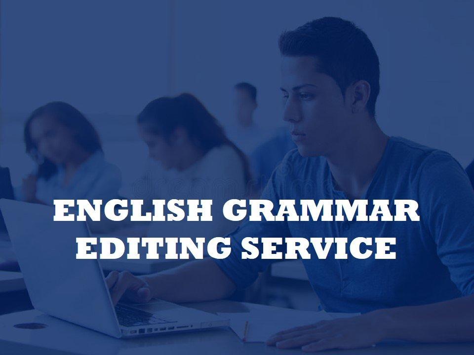 We fix English Grammar mistakes