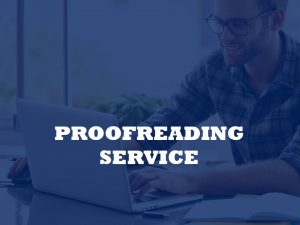 A unit for English Proofreading