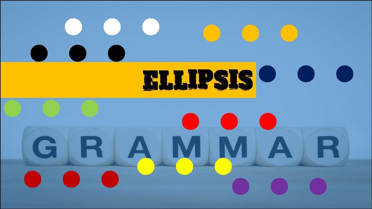 Where to use ellipsis