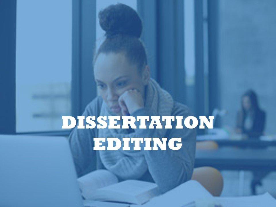 Providing a Dissertation Editing Service
