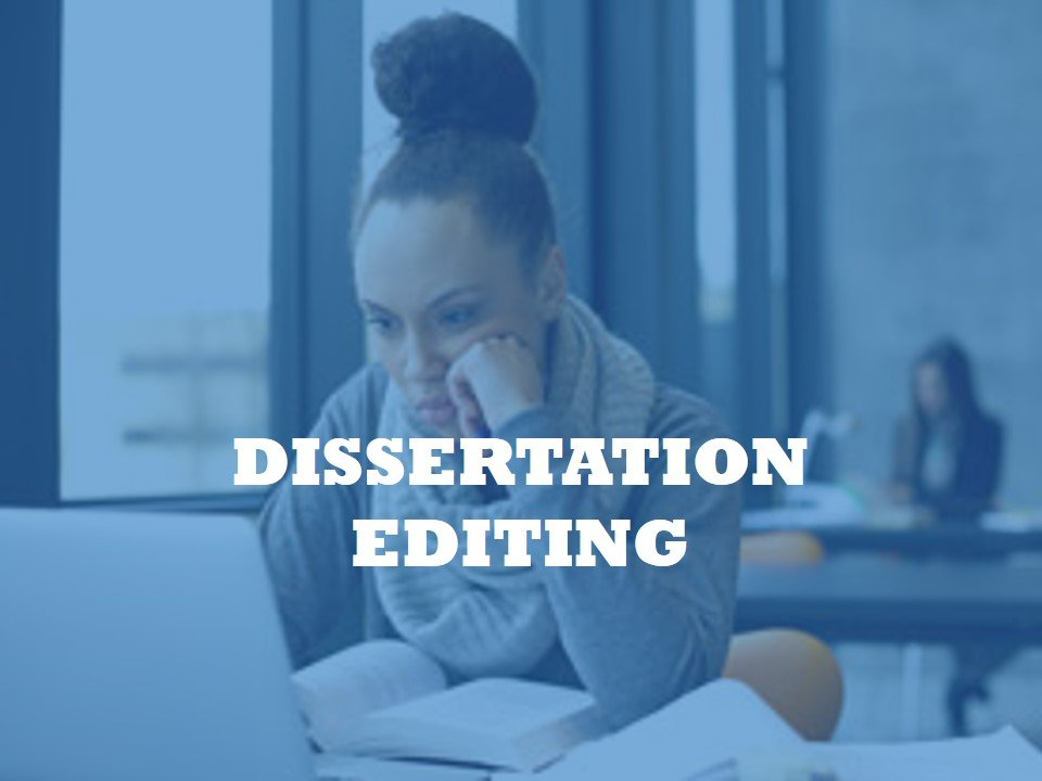 Edit my PhD dissertation by an expert