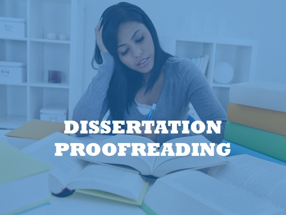 Click for Dissertation Proofreading Service