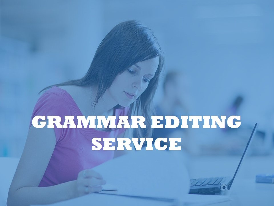 Click for Grammar Editing Service
