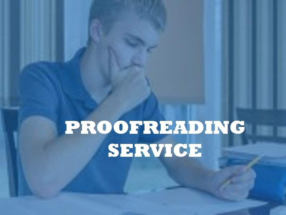 High-quality assistance with English Proofreading Services
