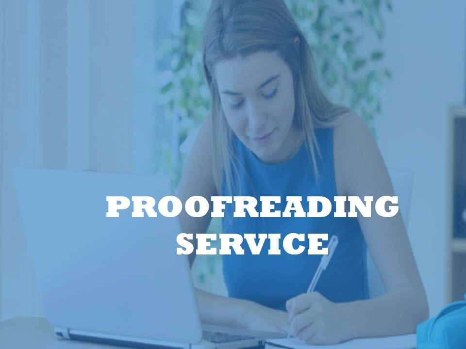 A Proofreading Service for all kind of documents