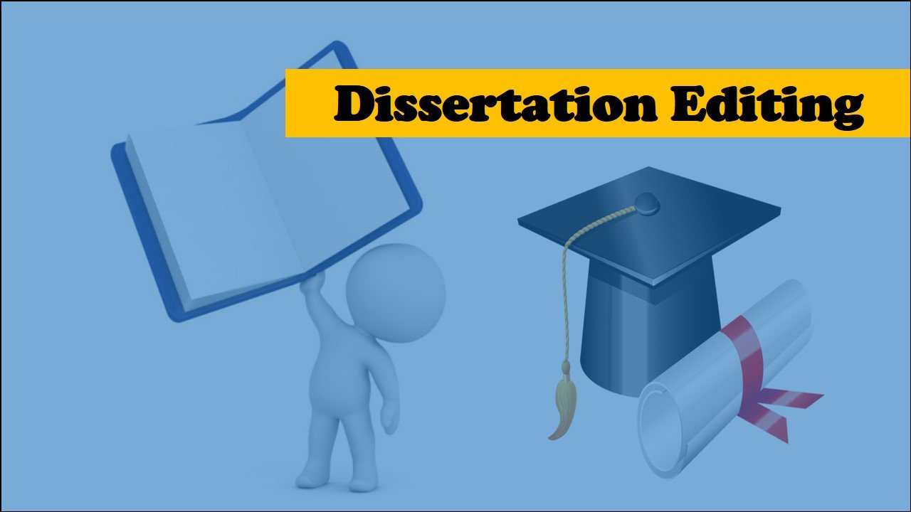 What is a dissertation editing service?