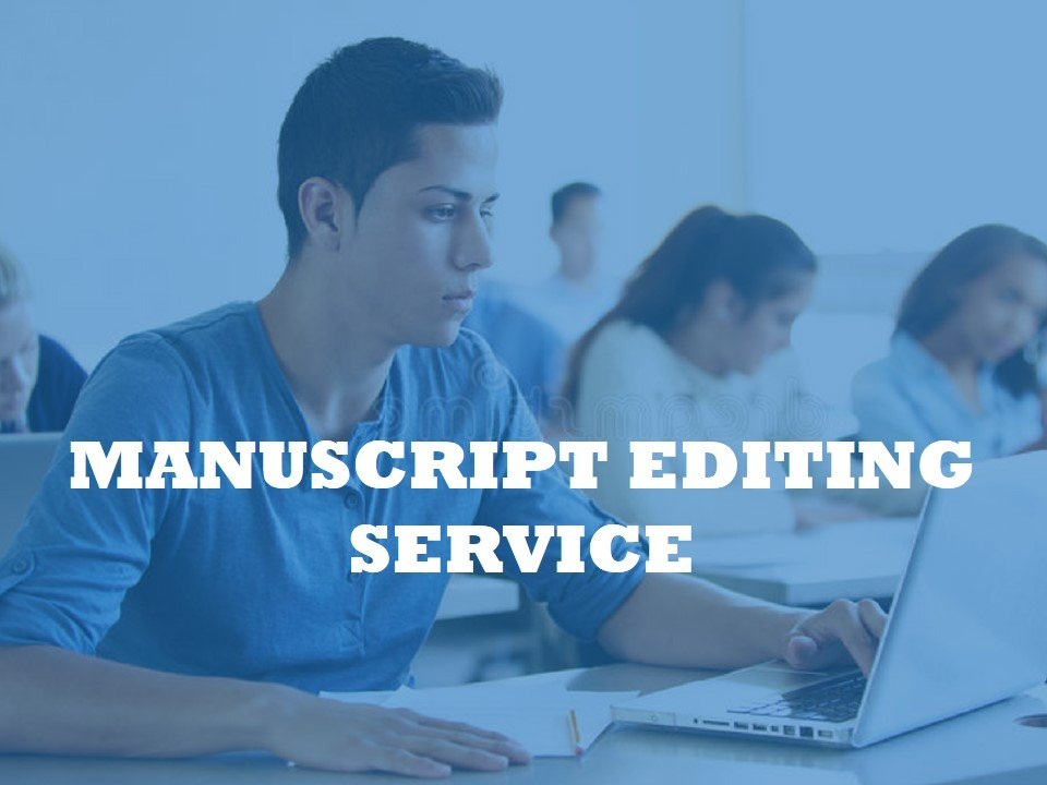 an editor for preparing a manuscript before submission