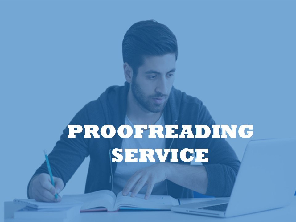 Helping university students with an English proofreading service