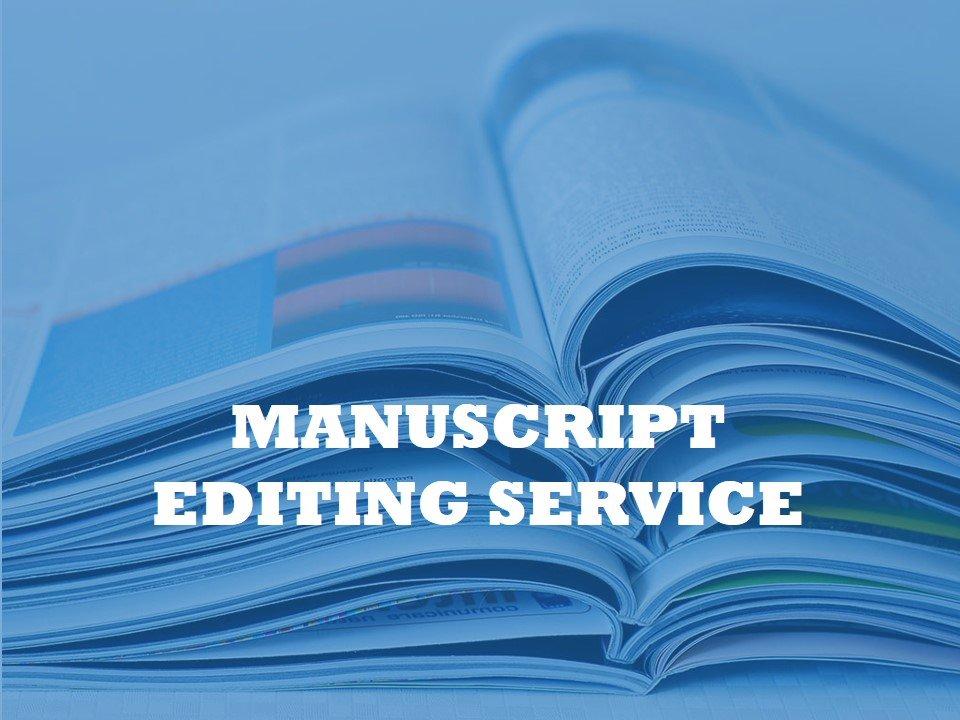 A university helping service that edits manuscripts