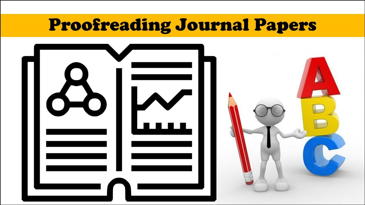 Proofreading Journal Papers