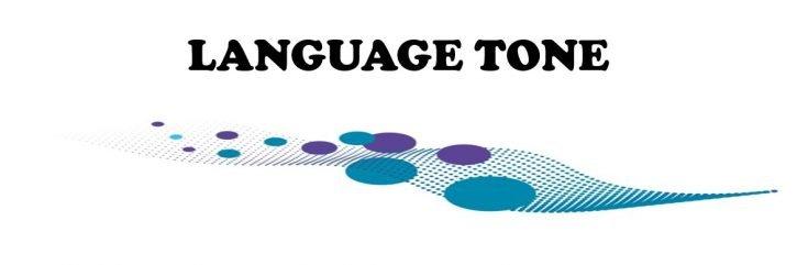 LANGUAGE TONE