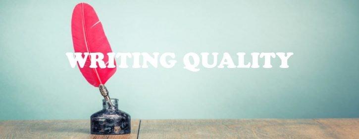 WRITING QUALITY