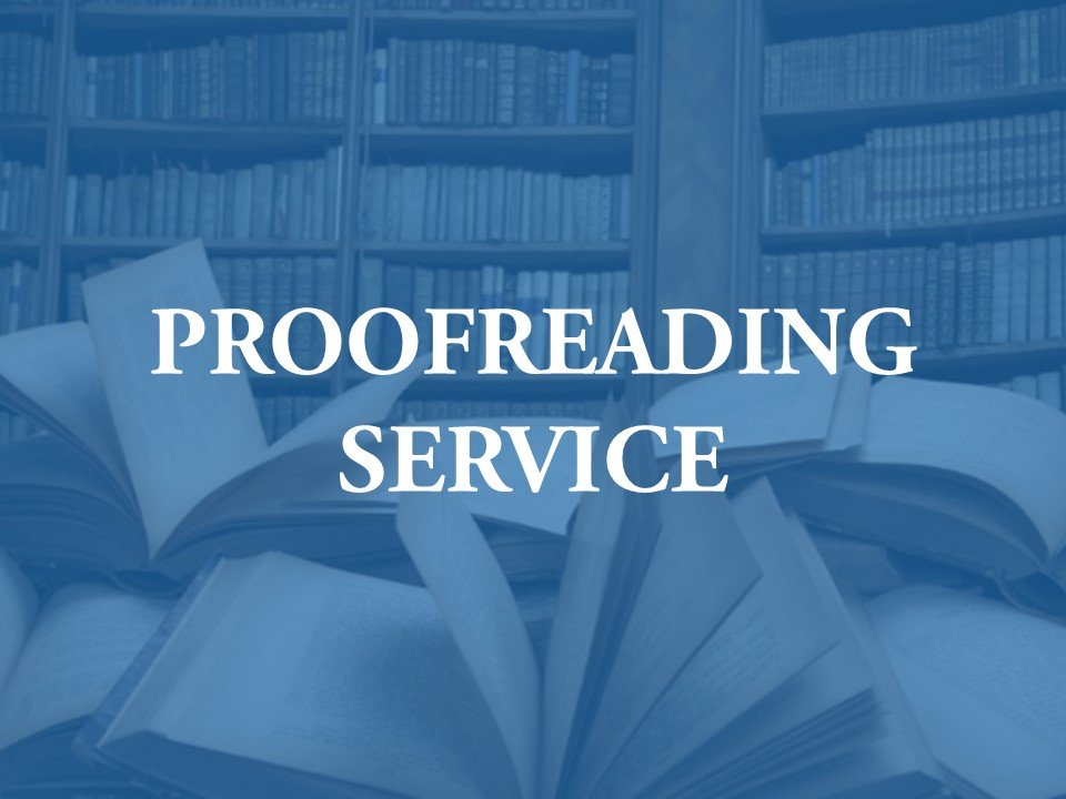 Hiring a proofreader for journal papers