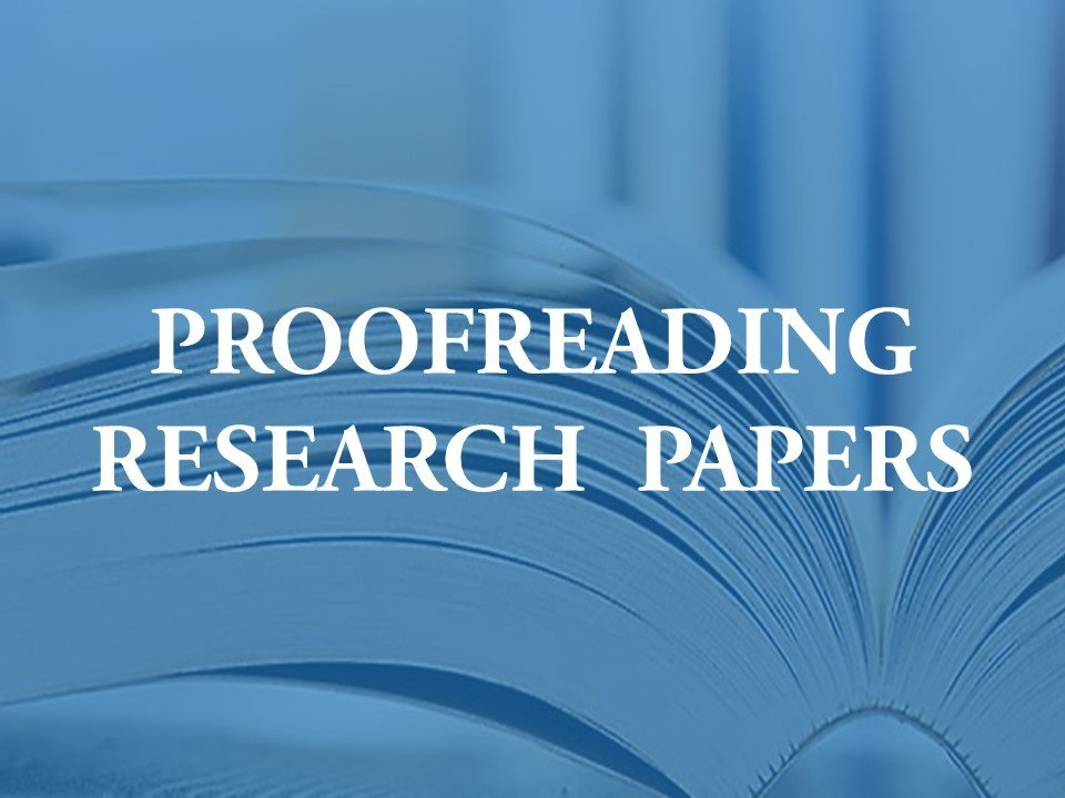 A new facility for proofreading research articles