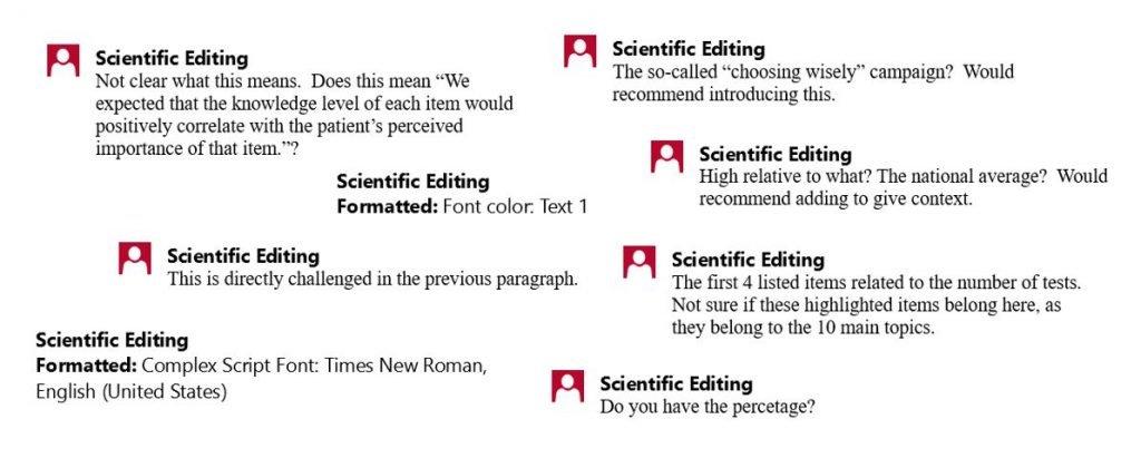 Copy Editing Services 2 | Scientific Editing