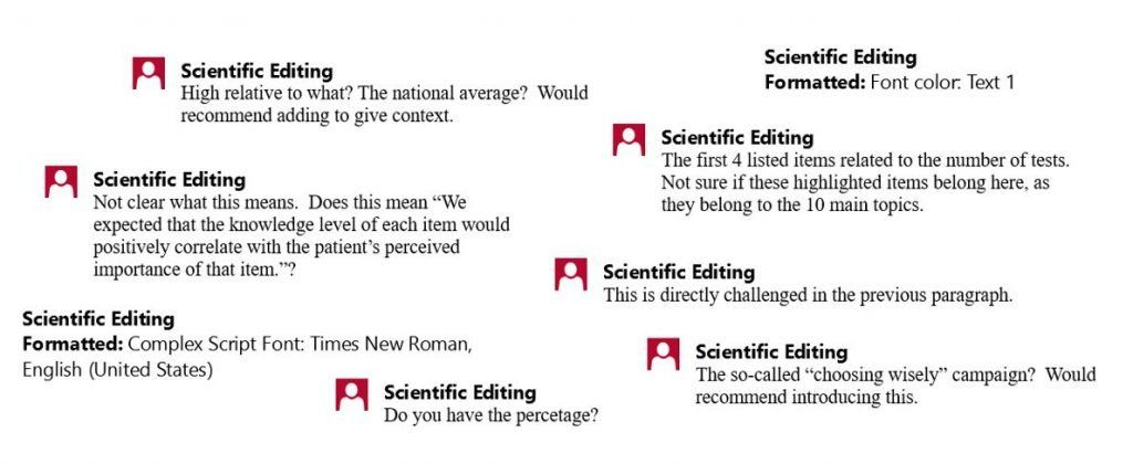 Snapshots of Scientific Feedback for research papers