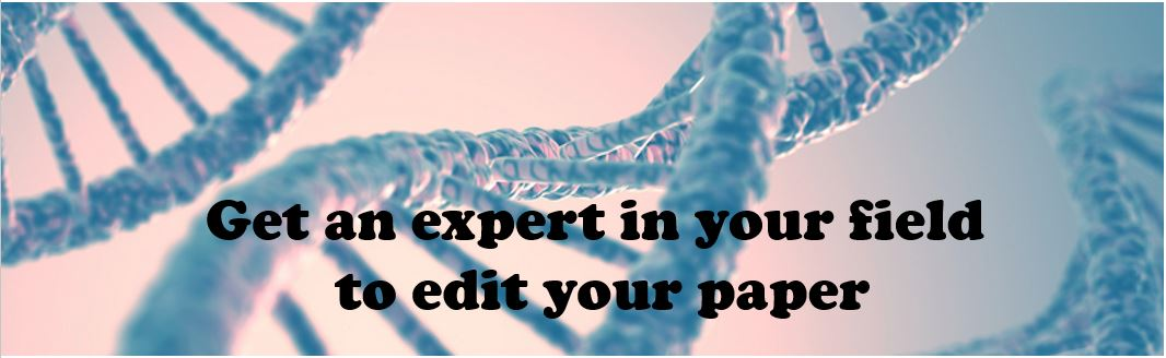 Expert editor in your field
