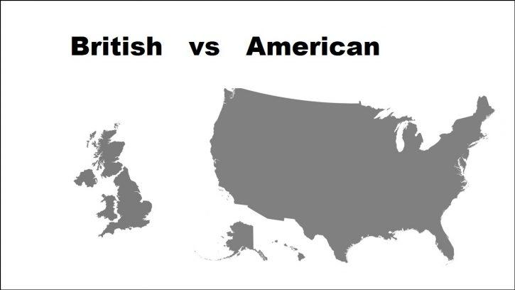 British versus Anerican editors