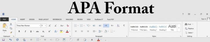 APA format - APA citation style