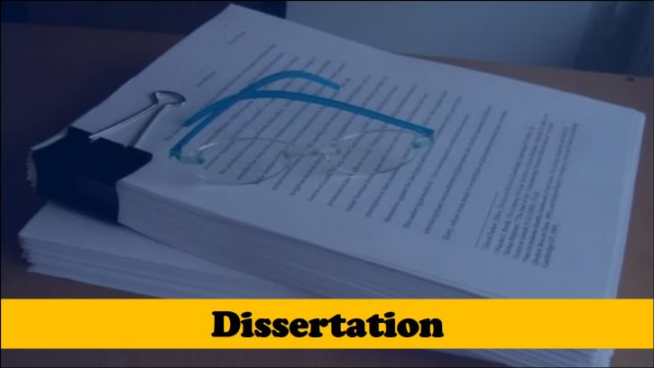 How to Structure a Dissertation