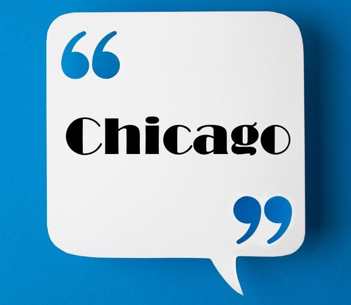 Paraphrasing and Quotation in Chicago Format