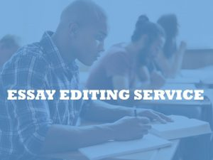 thesis editing services