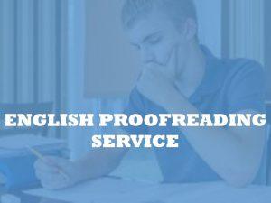 Academic Copyediting Services